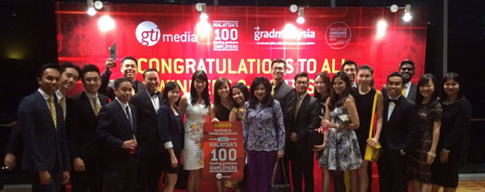 Maybank wins 4 awards at Malaysia's 100 Leading Graduate Employers Awards
